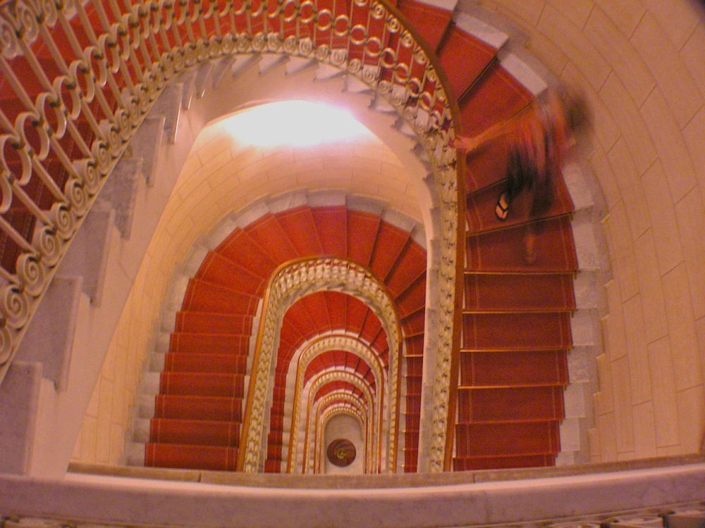 Descending the spiral staircase for this week's WPC (1/2)