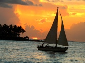 Sunset in Key West