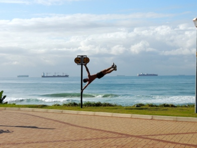 A windy day in Umhlanga